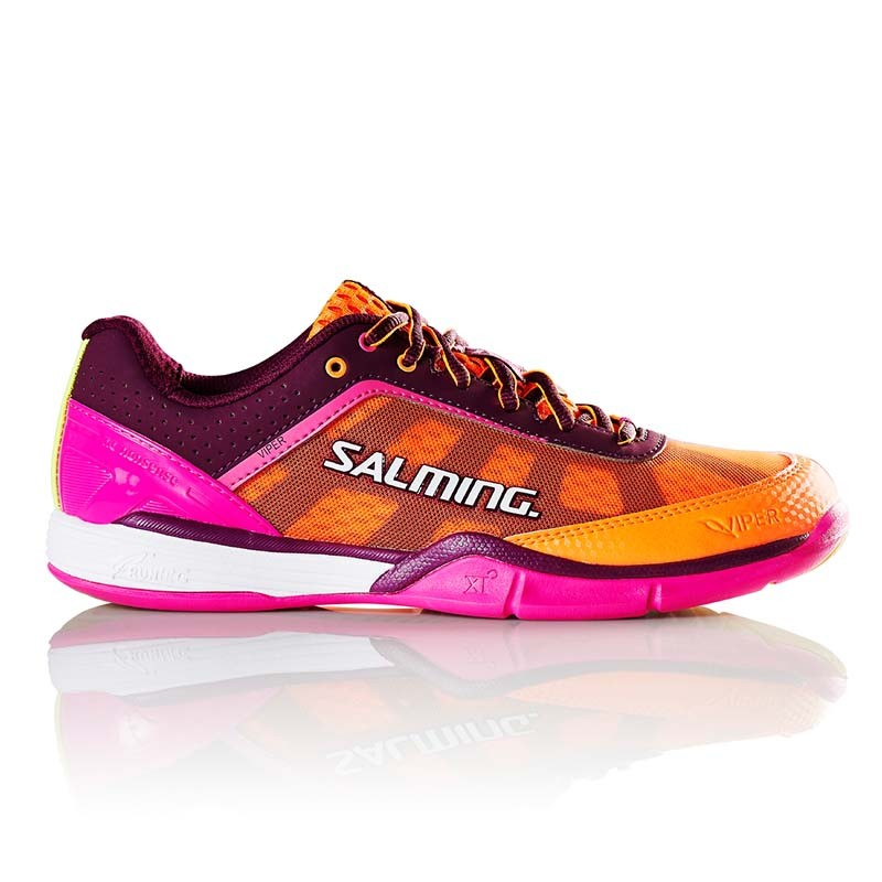 Кроссовки SALMING Viper 4 Purple/Orange