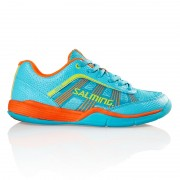 Кроссовки SALMING Adder Junior Turquoise/Shock/Orange
