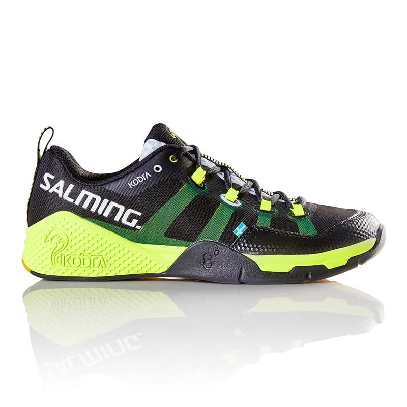 Кроссовки SALMING KOBRA Black/Yellow