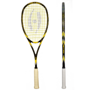 Ракетка для сквоша Harrow Spark Jonathon Power Signature Edition, Black/Yellow