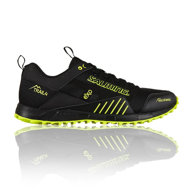 Кроссовки SALMING TRAIL T4 Men Black/Safety Yellow