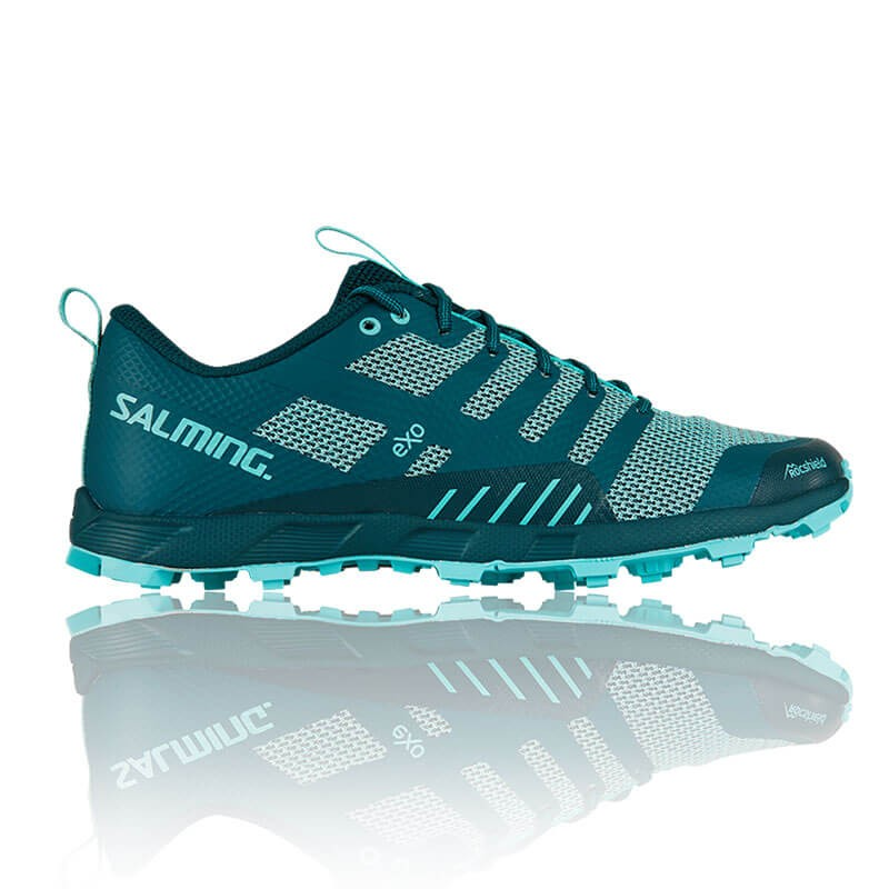 Кроссовки SALMING OT COMP Wmn Deep Teal/Aruba Blue