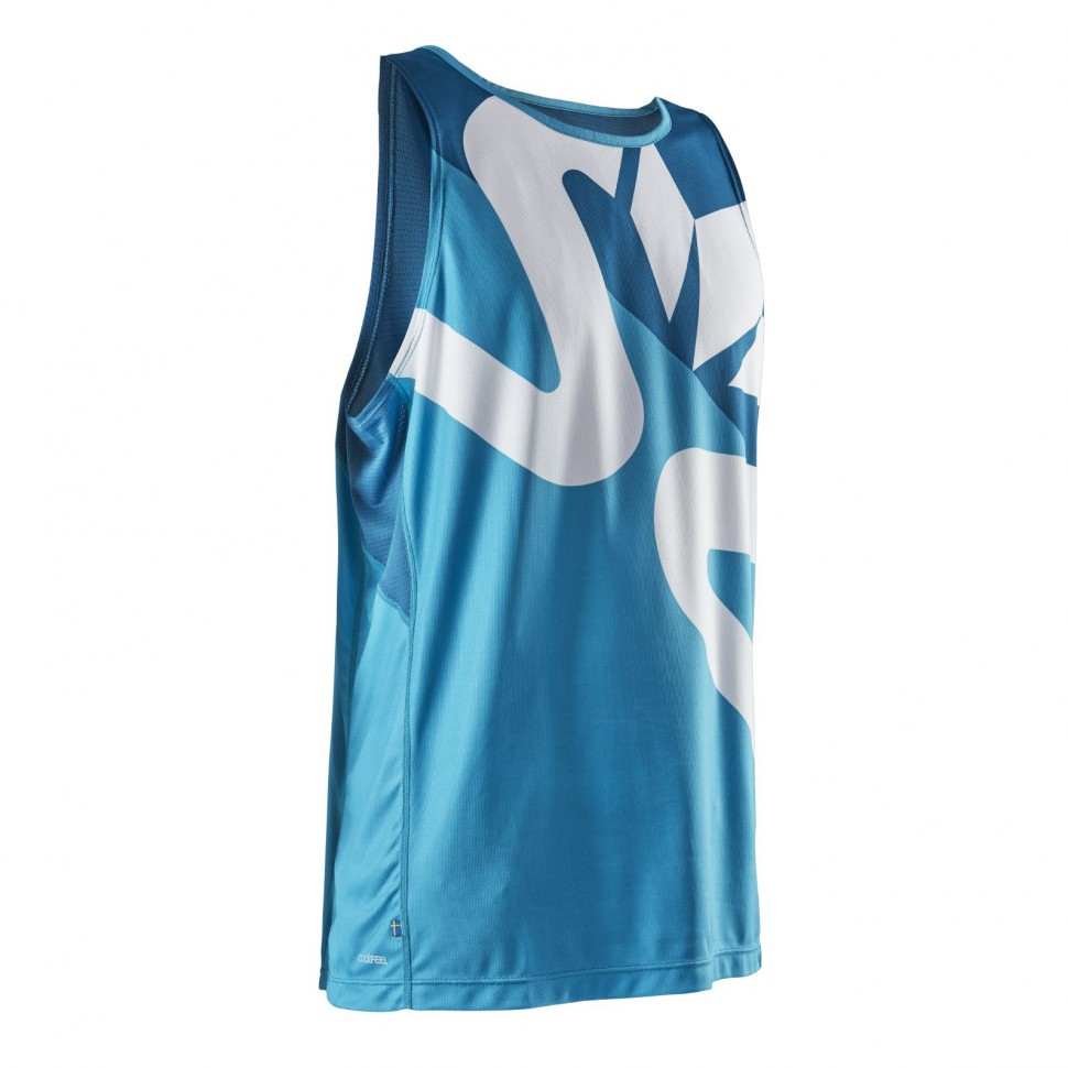 Майка Race Air Tank Men Caribbean Sea/Moroccan Blue