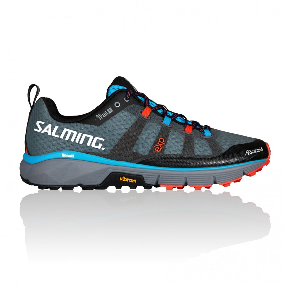 Кроссовки SALMING TRAIL 5 Grey/Black