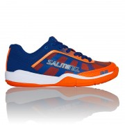 Кроссовки SALMING Falco Kid Limoges blue/Orange Flame