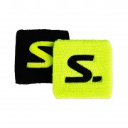 Напульсник Salming Wristband Short 2-pack Yellow/Black